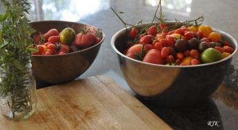 Tomates del jardin