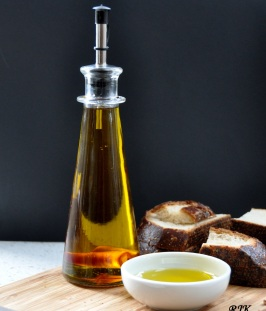 Aceite de oliva con chile