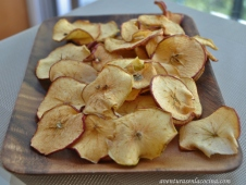 Manzanas deshidratadas
