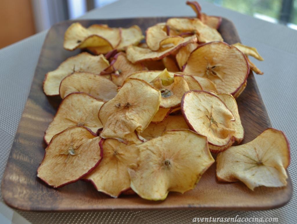 Manzanas secas
