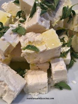 Botana con queso