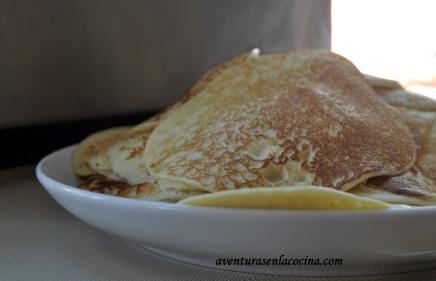 Pancakes de ricota
