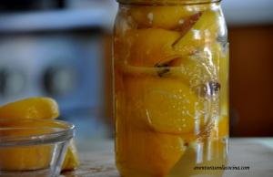 Limones en conserva