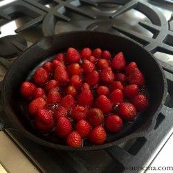 Rostizando las fresas