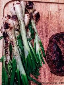 Cebollas y carne