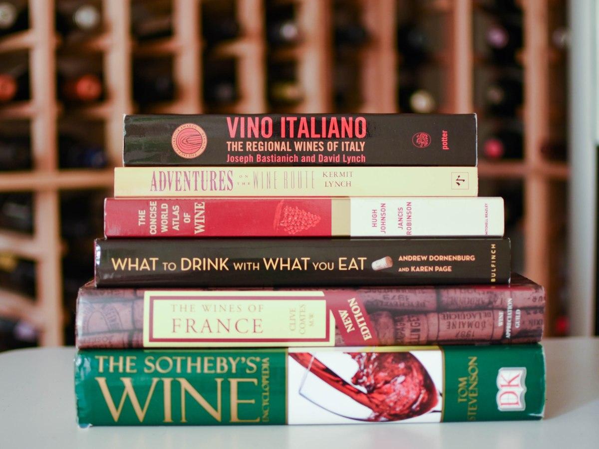 Libros sobre vinos recomendados