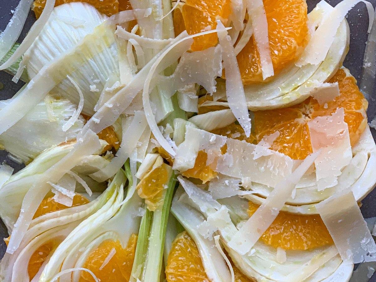 Receta de ensalada de naranja