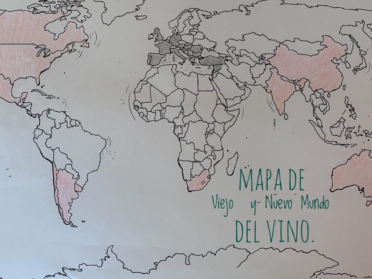 Mapa de vinos
