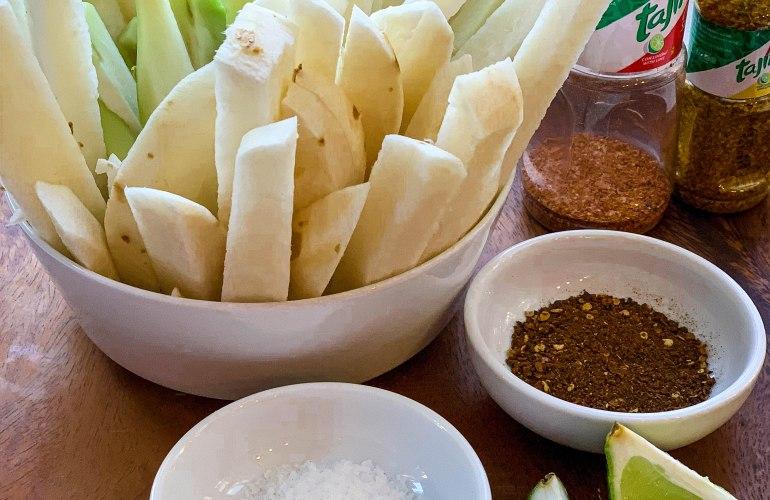 Snack Chayote y jicama