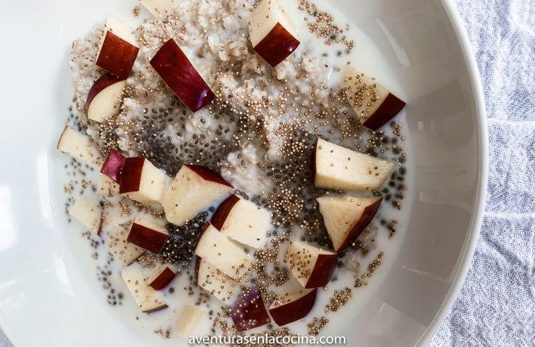 cereal de avena saludable