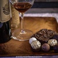 Como maridar vino con chocolate