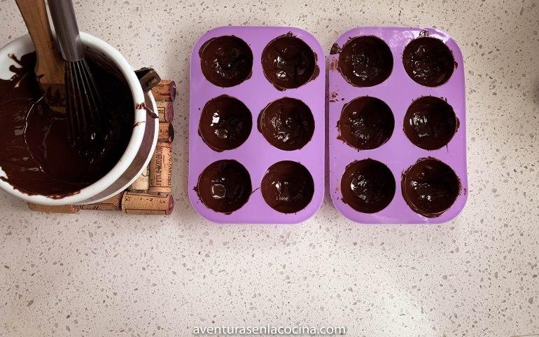 Esfera de chocolate