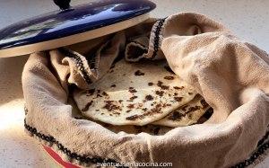 Receta de tortillas de harina