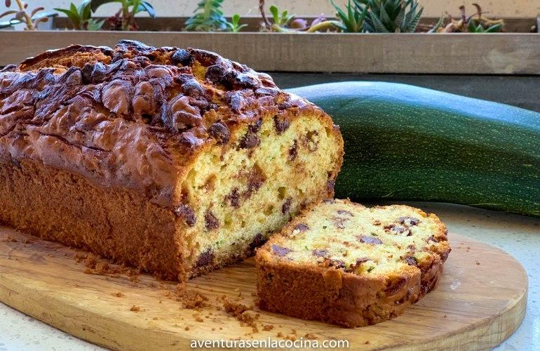 pan de zucchini y chocolate / aventuras en la cocina