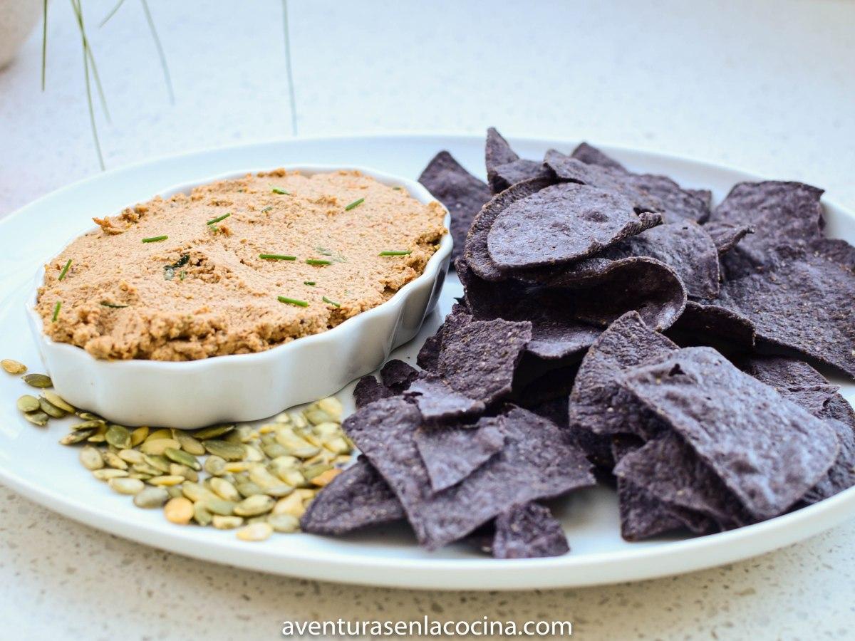 Dip maya de pepitas/ Aventuras en la Cocina